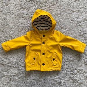 Baby Gap | Jersey-lined Raincoat NWT
